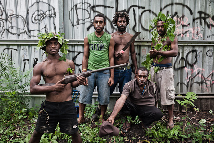 "These men call their gang ""Dirty Dons 585"" and admit to rapes and armed robberies in the Port Moresby area. They say two-thirds of their victims are women."